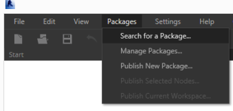 Dynamo package manager